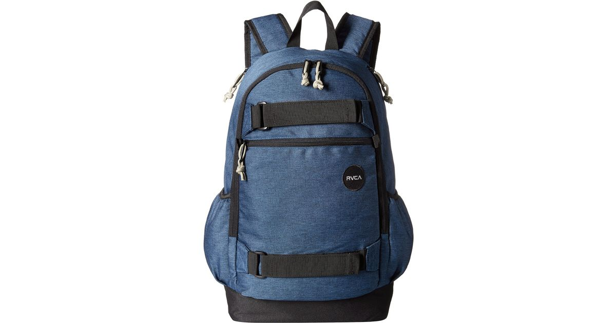 a47d8d7f4e4d Lyst - RVCA Push Skate Backpack in Blue for Men