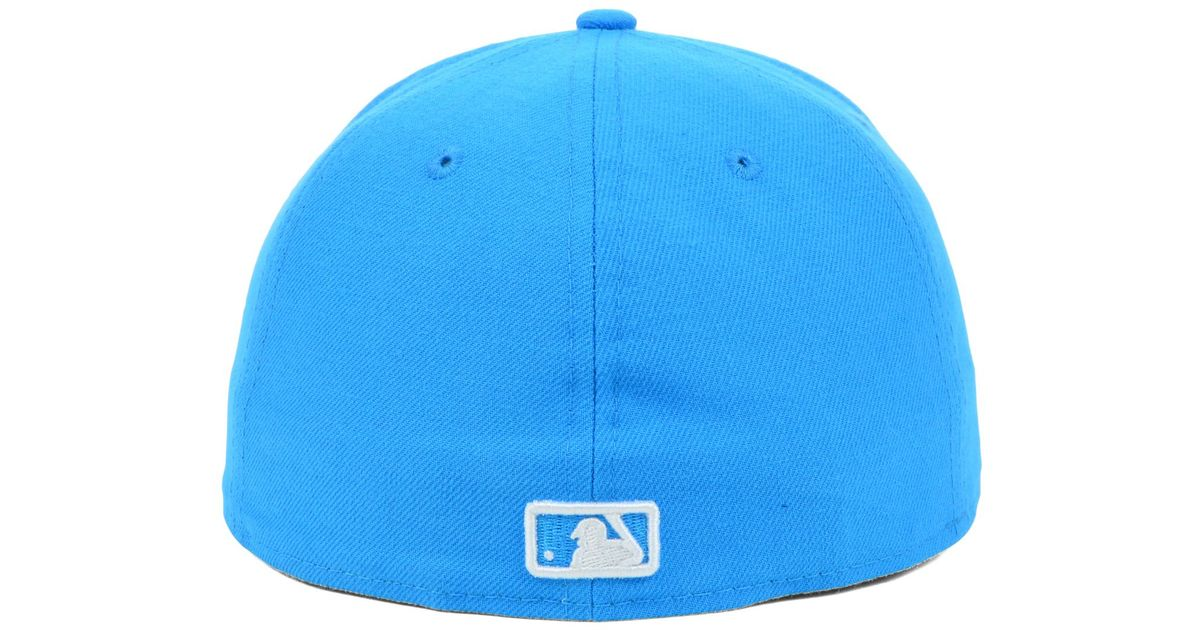 new style 65b90 a7e85 ... reduced ktz blue chicago white sox mlb c dub 59fifty cap for men lyst  f6490 c8d00