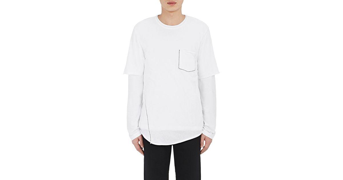 Rag Bone Men 39 S Jersey Hartley T Shirt In White For Men