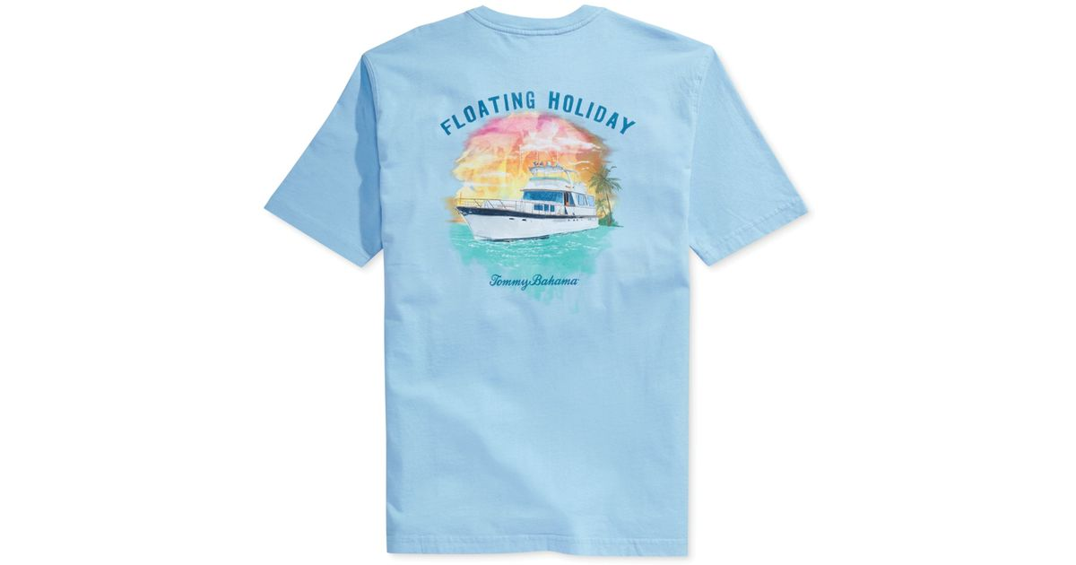 Tommy Bahama Floating Holiday Tshirt In Blue For Men Lyst