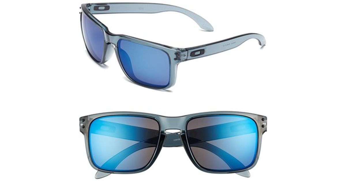 4f0e3de7c3 Men s Blue  holbrook  55mm Sunglasses - Crystal Black  Ice Iridium