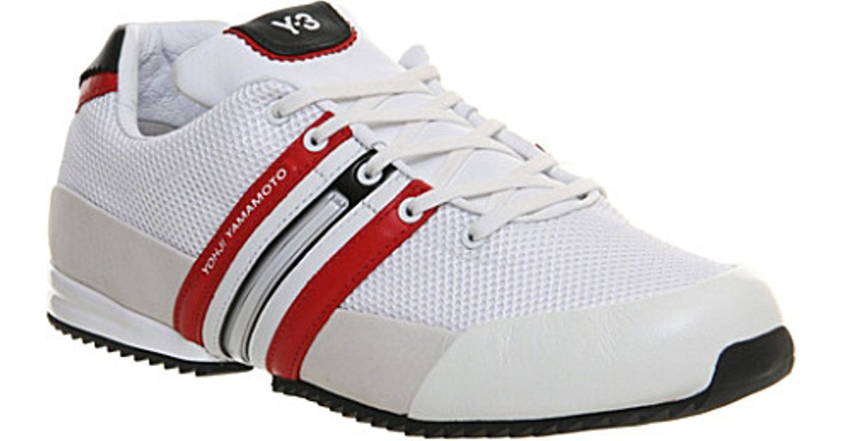 c710034356ba Y-3 Y3 Sprint Trainers - For Men in White for Men - Lyst