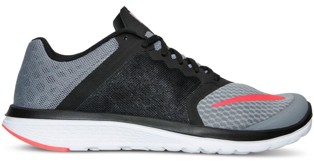 Lyst - Nike Men's Fs Lite Run 3 Running Sneakers From Finish Line in Gray for  Men