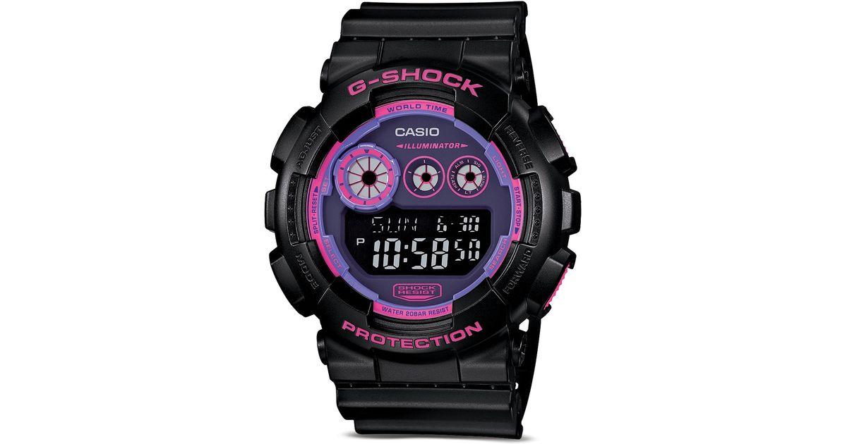 5434a29e147 Lyst - G-Shock Face Color Digital Watch