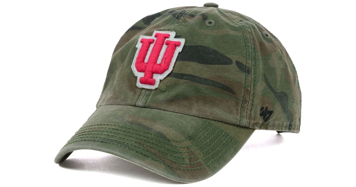 reputable site 0b46c f4cb0 ... discount 47 brand indiana hoosiers oht movement clean up cap in green  for men lyst c0e16