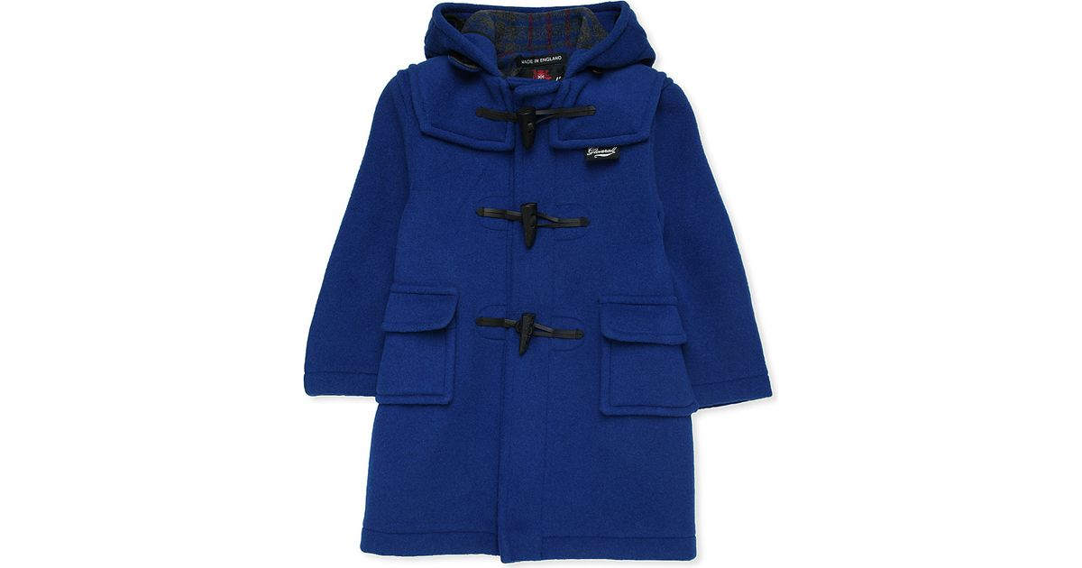 Gloverall Paddington Bear Wool-blend Duffle Coat 2-9 Years in Blue ...