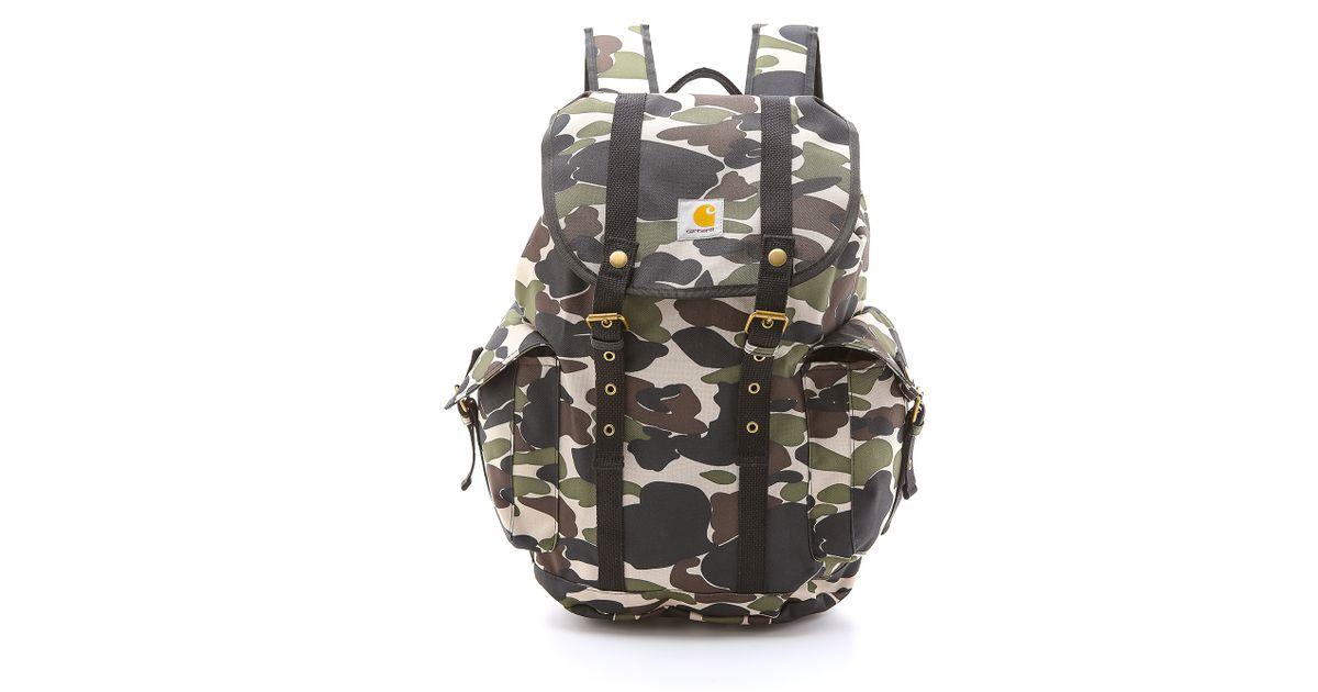 Lyst - Carhartt WIP Tramp Backpack in Green for Men