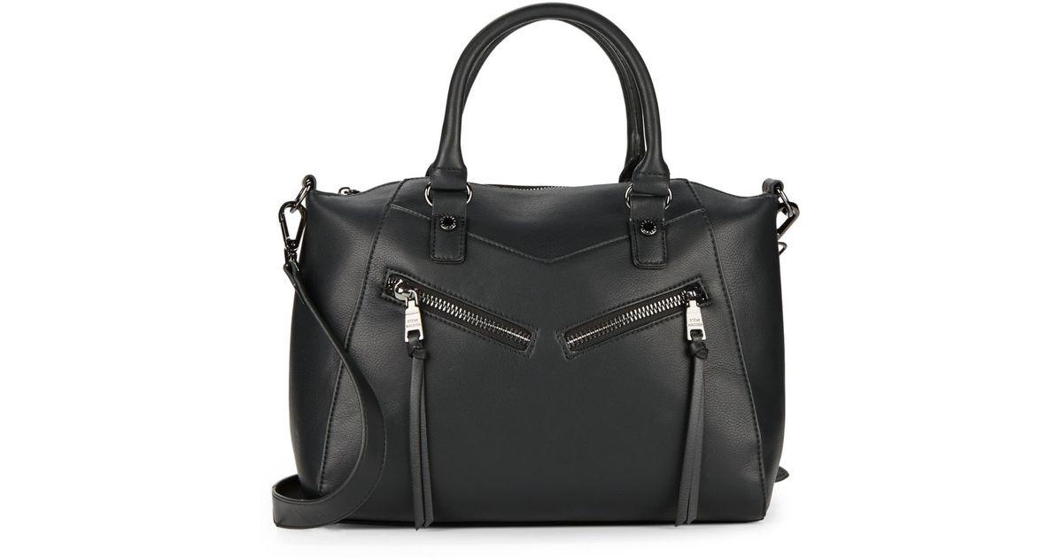 03bb25f060 Lyst - Steve Madden Selene Zip Top-handle Bag in Black