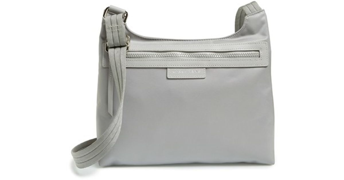 Popular Portable Longchamps Le Pliage Hobo Bags White