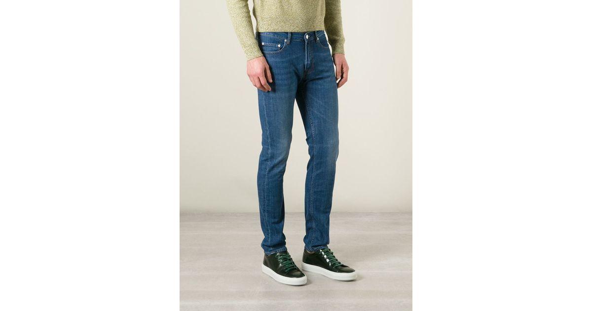 Acne Studios  Ace Street  Skinny Jeans in Blue for Men - Lyst cfdf4675766