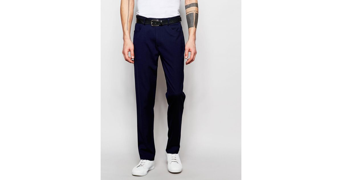 Shop for women's blue trousers at bestkapper.tk Next day delivery and free returns available. s of products online. Buy women's blue trousers now! Navy Taper Trousers. £ Navy Boot Cut Trousers. £ Navy Side Stripe Skinny Trousers. £ Navy Lipsy High Waisted Trousers. £ Navy Lipsy Horn Buckle Tapered Trouser.