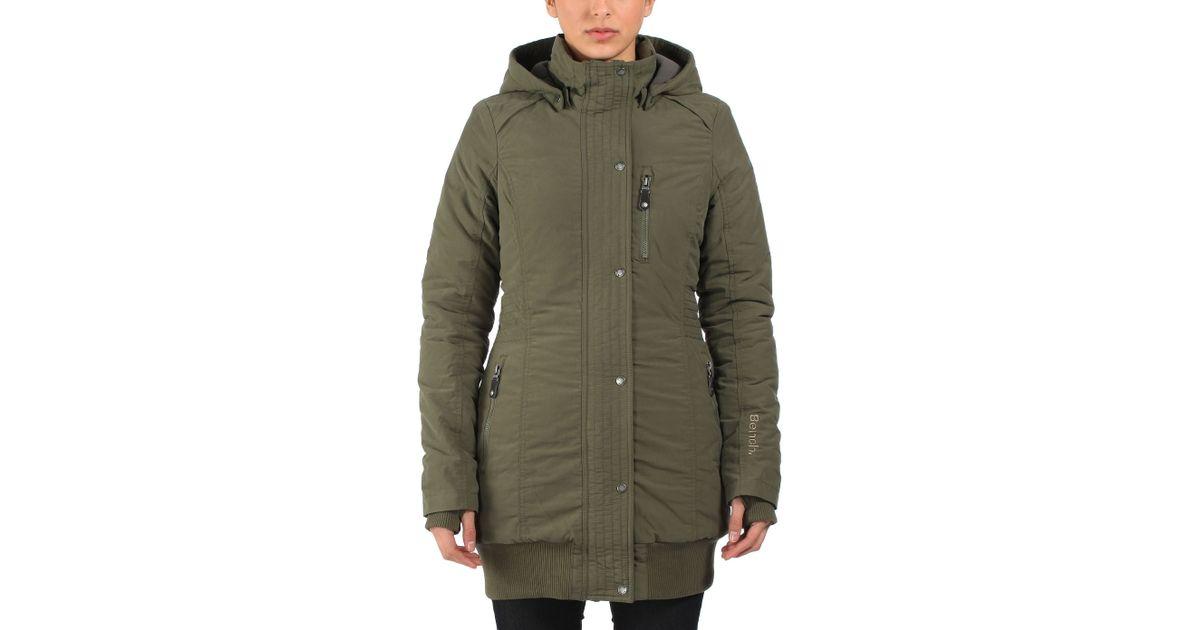 Bench Razzer Part - 37: Bench Razzer Ii Hooded Parka Jacket In Brown | Lyst