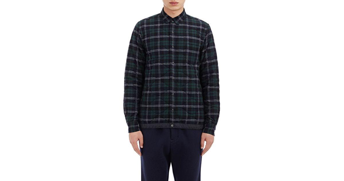 Mens plaid flannel jacket jumpers sale for Plaid shirt jacket mens