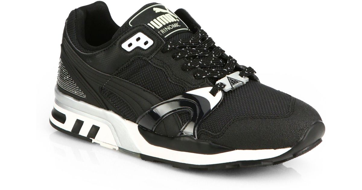 dc553a298a2f ... shop lyst puma trinomic xt2 plus tech sneakers in black for men afd24  91975