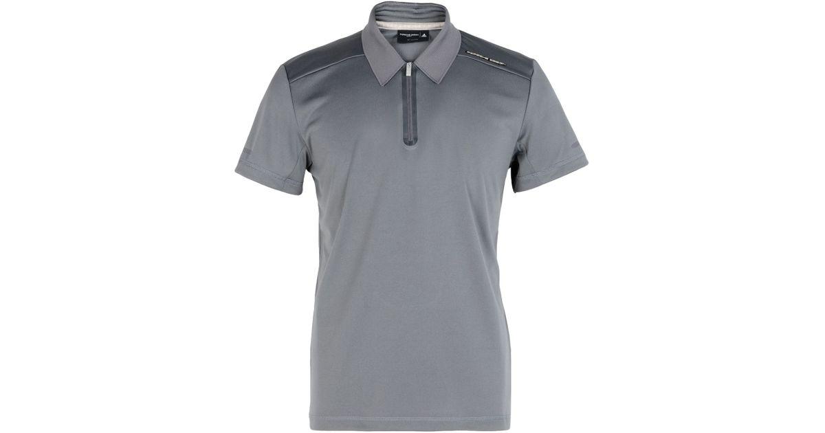 Porsche Design For Men Gray Shirt Polo In Lyst dSqFUxS