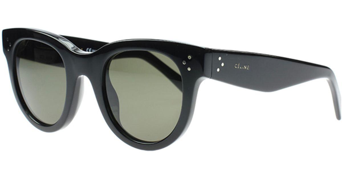 Fasjonable Lyst - Céline Baby Audrey Sunglasses in Black II-92