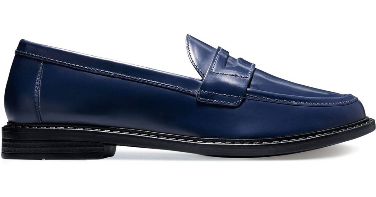 e7e712a8f1c Cole Haan Blue Loafers - Collections Blue Images