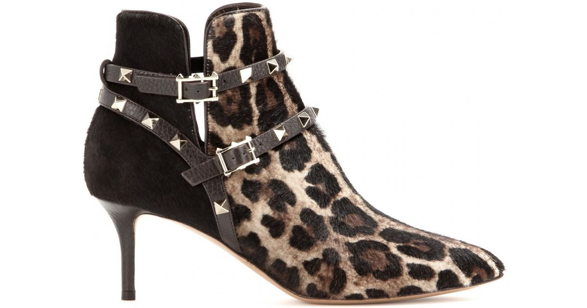 Valentino Ponyhair Ankle Boots footaction online ulreu9K