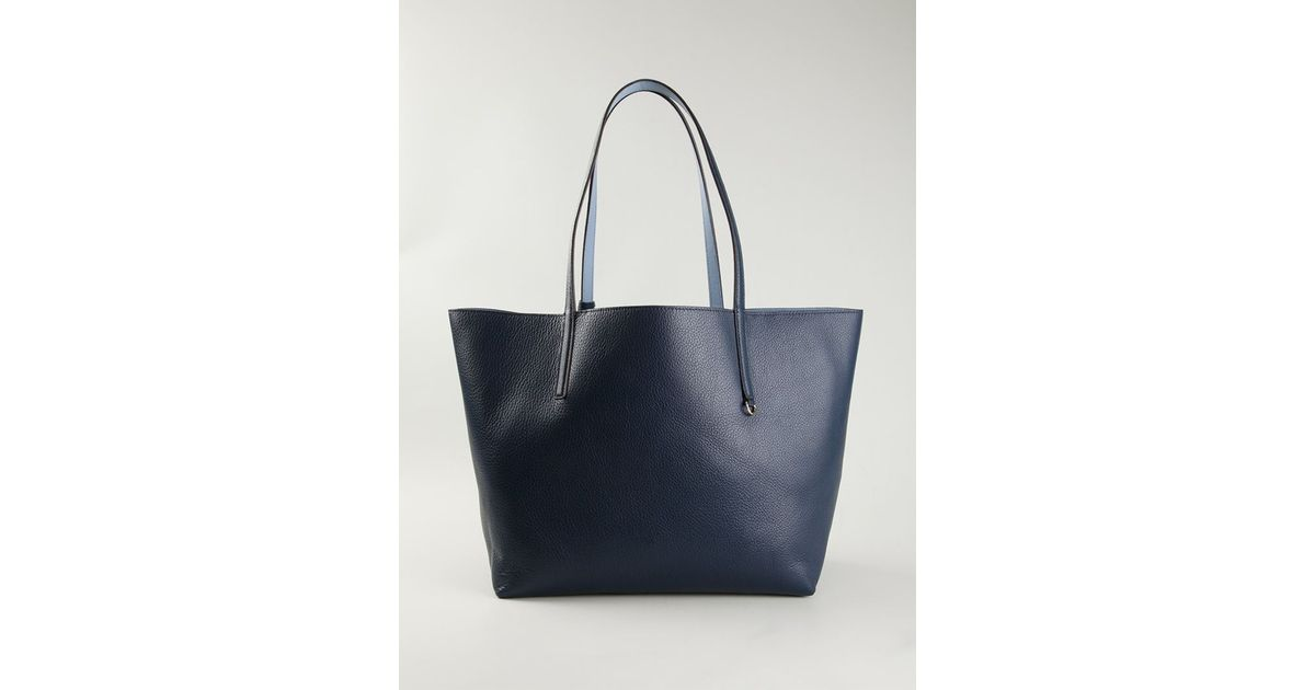 5338a260726885 MICHAEL Michael Kors Izzy Large Reversible Tote in Blue - Lyst