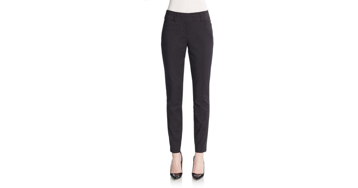 Ivanka trump Tapered Pants in Black | Lyst