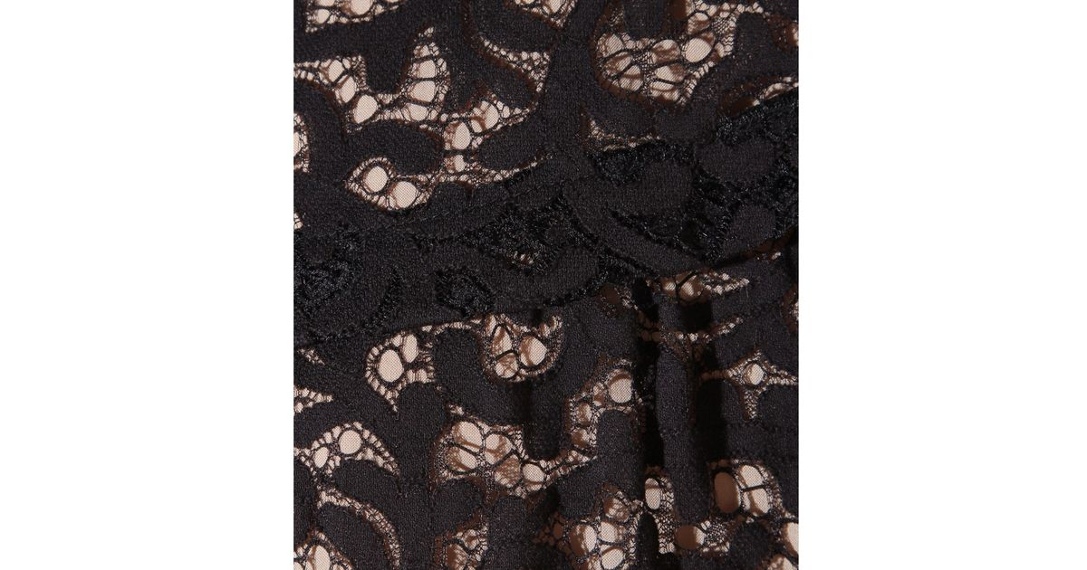 Lyst See By Chlo Lace Dress In Black