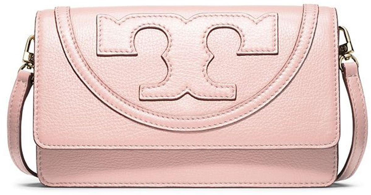 619cb22b085 Lyst - Tory Burch All-t Small Combo Cross-body in Pink