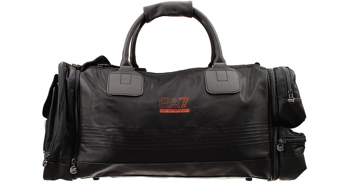 Lyst Giorgio Armani Handbag Bag Gym Multipocket Nylon With Logo In Black For Men