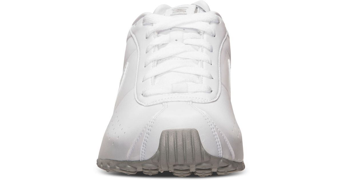 86ef087d95fe Lyst - Nike Men S Shox Classic Ii Si Running Sneakers From Finish Line in  White for Men