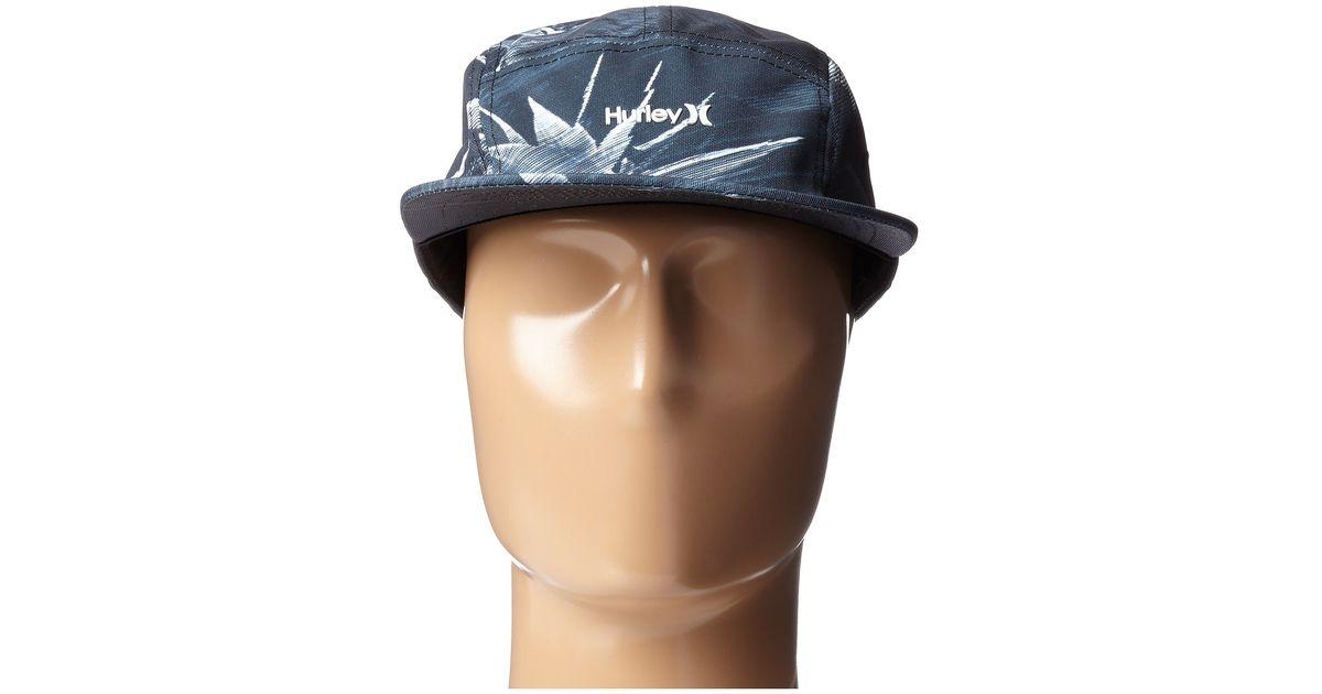 save off 83cd4 9b749 ireland lyst hurley geo glitch camper hat in black for men 7bc7b 565a6