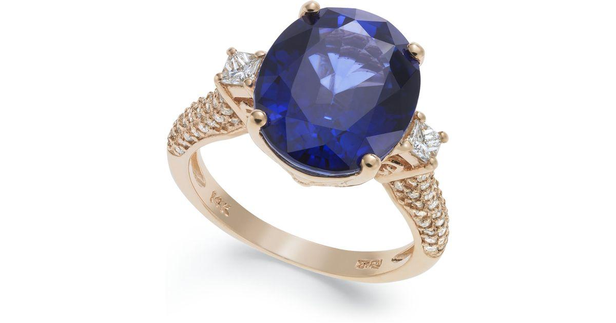 Manufactured Diamond Rings