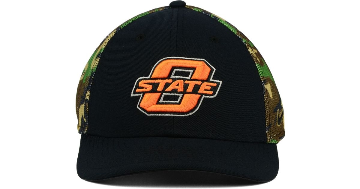 100% authentic 66e63 584f8 Nike Oklahoma State Cowboys Camo Hook Swooshflex Cap in Green for Men - Lyst