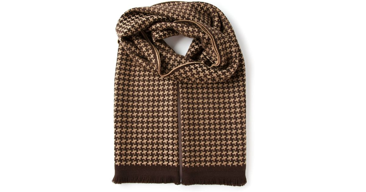 Knitted wool scarf Givenchy yU0NB14p4