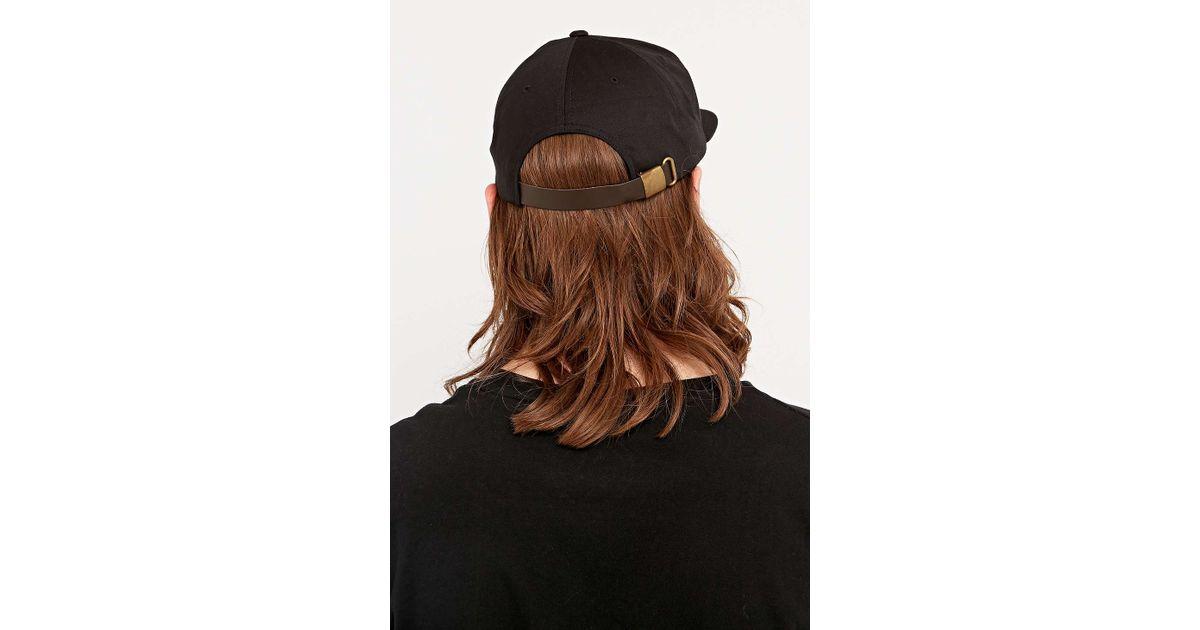 Obey Bridgeport Black Cap in Black for Men - Lyst cafa1630d0c4