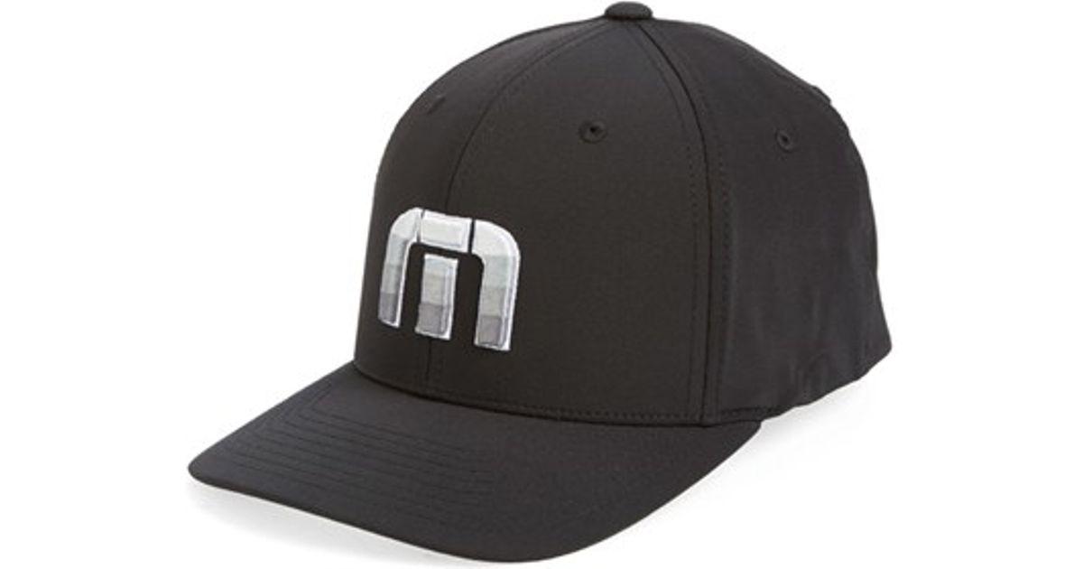 65e14a95042 ... inexpensive lyst travis mathew donnelly flexfit hat in black for men  0164d ae3da ...