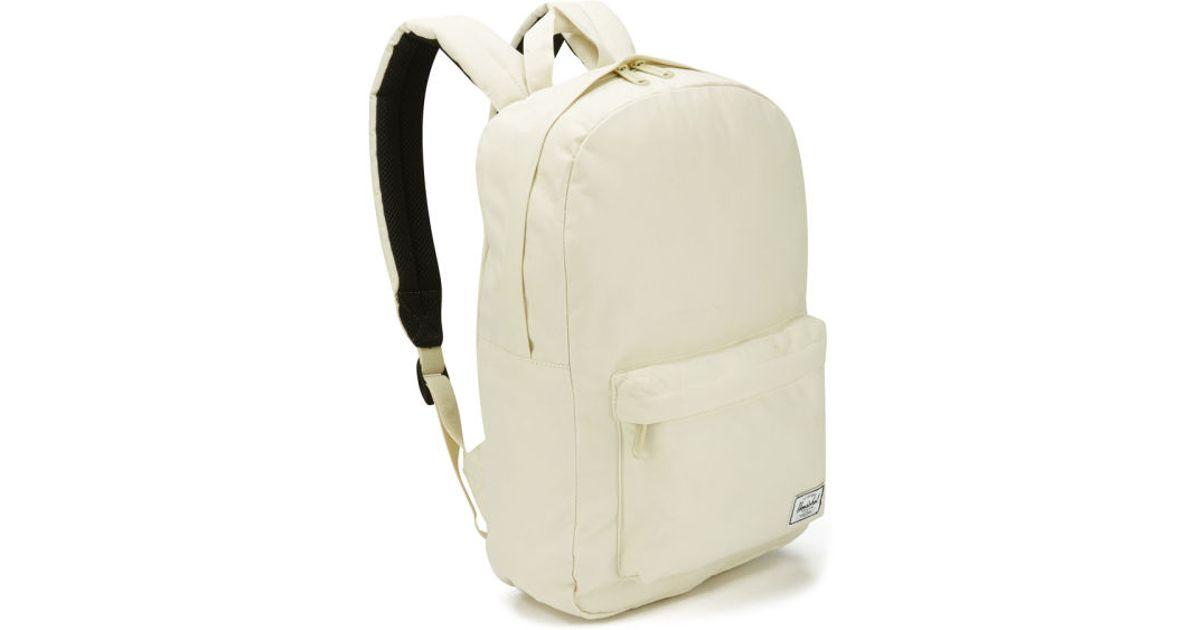 f339d44f5d Herschel Supply Co. Women S Classic Mid Volume Backpack in White for Men -  Lyst