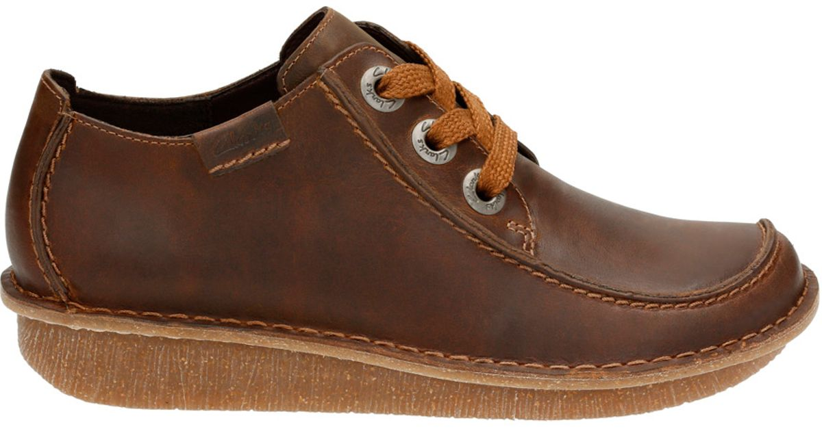 Clarks Funny Dream Shoes Brown