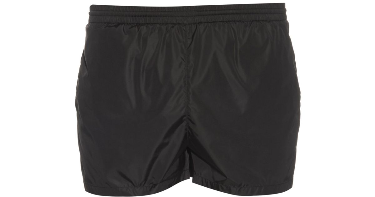93900d86c397 Lyst - Gucci Embroidered-bee Swim Shorts in Black for Men