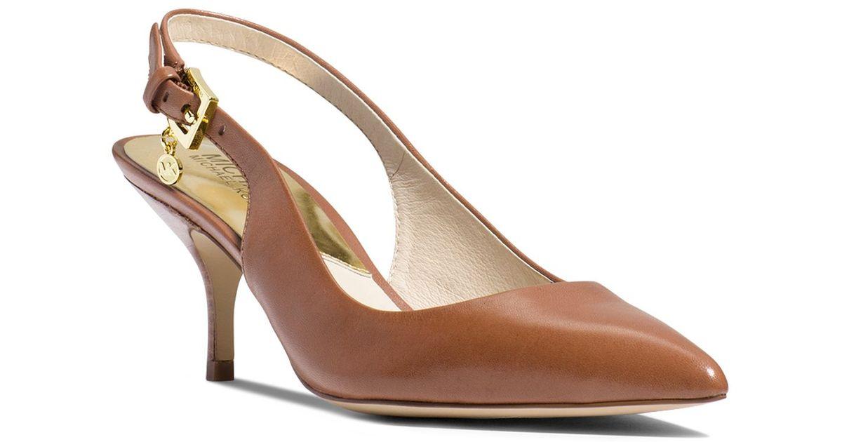 Zara Kitten Heel Shoes With Bow
