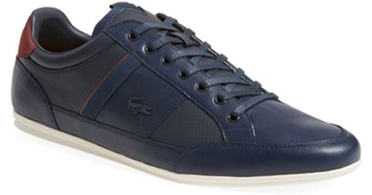 b8a7efcaee1 Lyst - Lacoste  Chaymon  Sneaker in Blue for Men