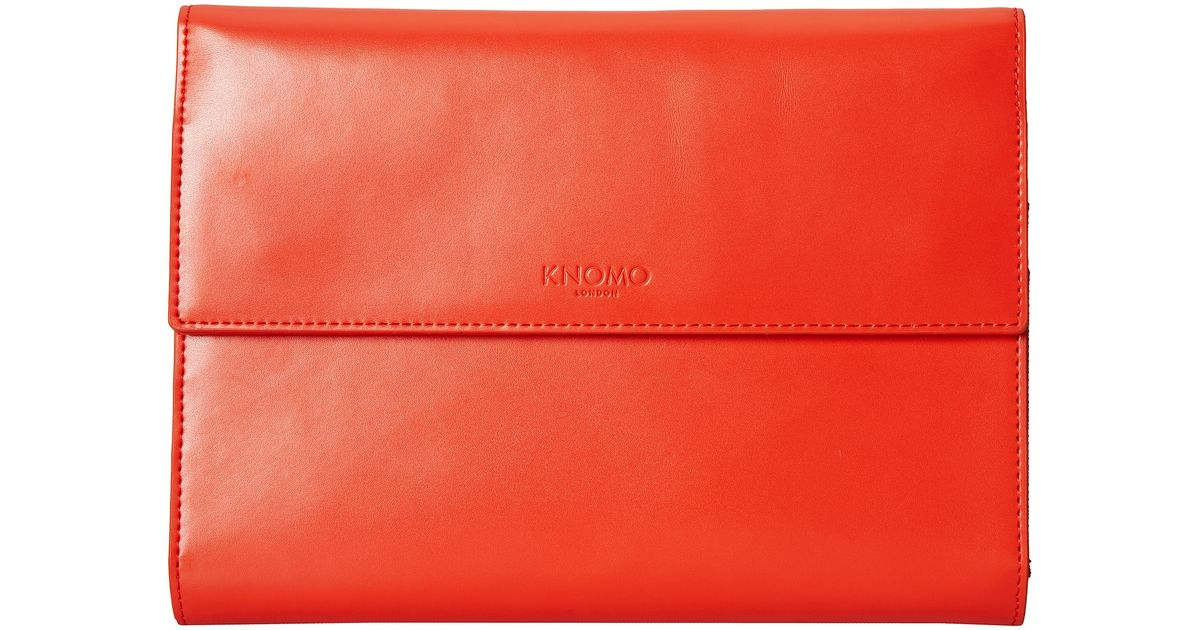 Lyst Knomo Soho Knomad Mini 8 Portable Organizer in Red
