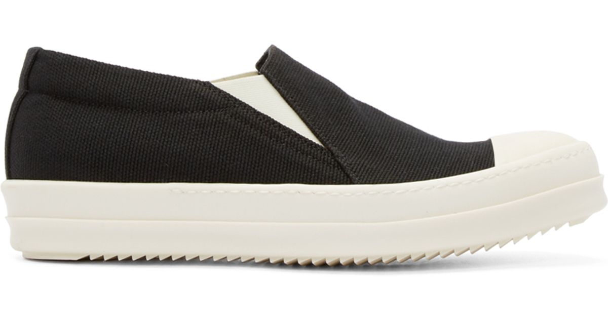 Rick Owens & Off- Boat Slip-On Sneakers AFRm0p