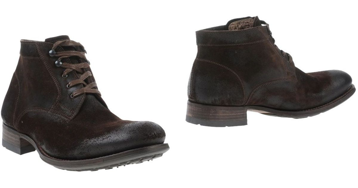 ndc ankle boots in brown for cocoa lyst