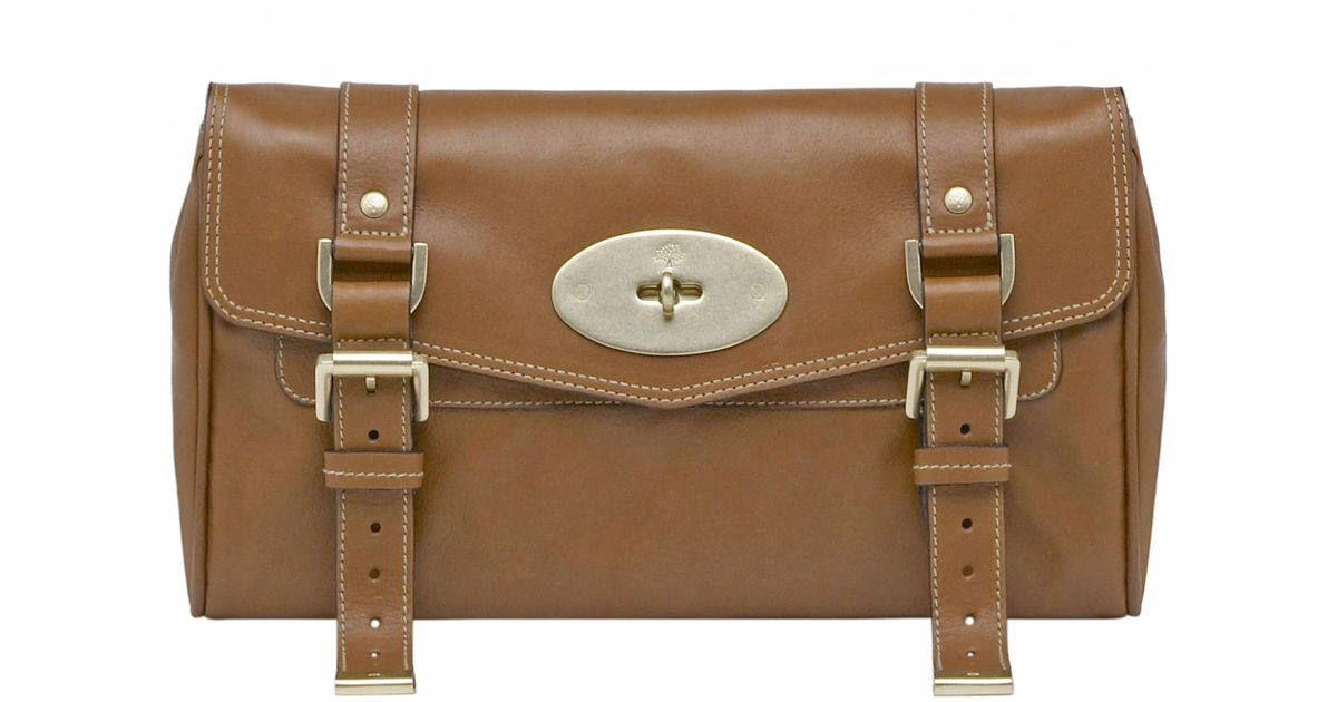 ... coupon code for mulberry oak alexa small shoulder clutch in brown lyst  52e30 e7a10 dd41d91334509