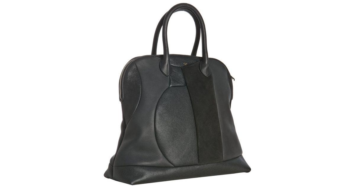 celine online shop usa - celine leather bowling bag