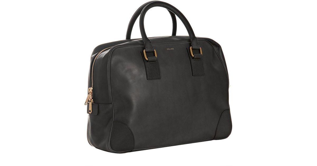 buy celine handbags - celine luggage phantom leather bowling bag