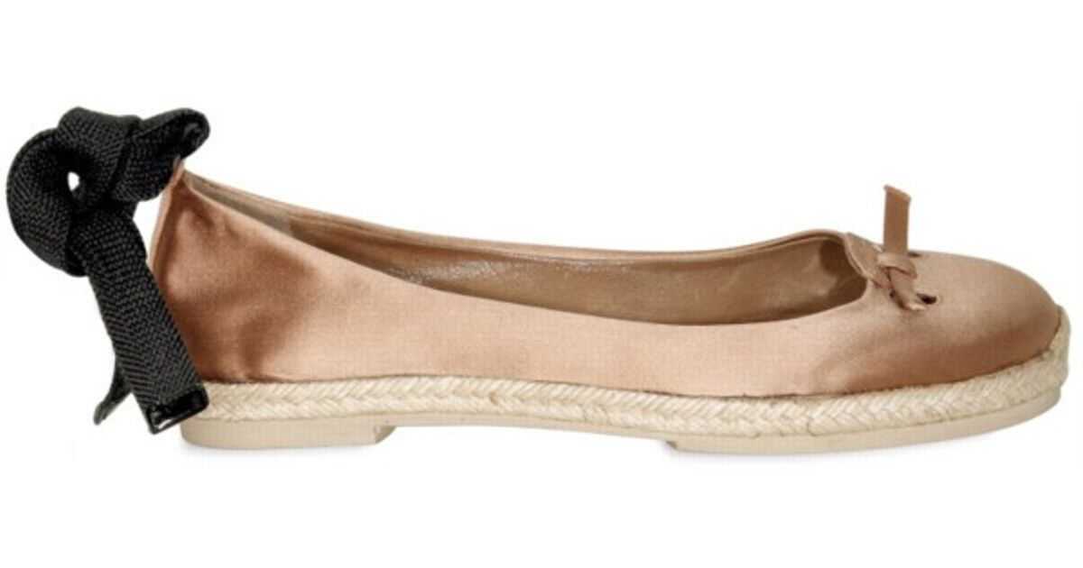 Marc Jacobs Satin Espadrille Flats cheap sale affordable cheap sale high quality websites outlet discount GqnylQEpD4