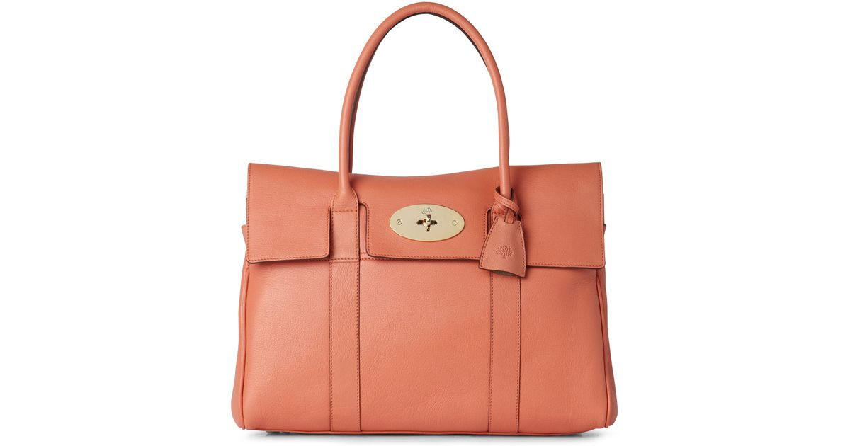 Mulberry Bayswater Soft Goat Tote in Pink - Lyst 3f1a4021cf61b