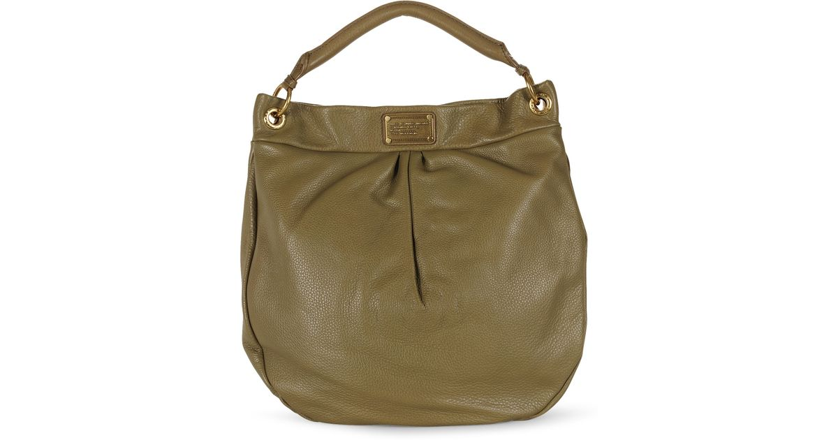 5ba8968f8e1d Marc By Marc Jacobs Classic Q Hillier Hobo in Natural - Lyst
