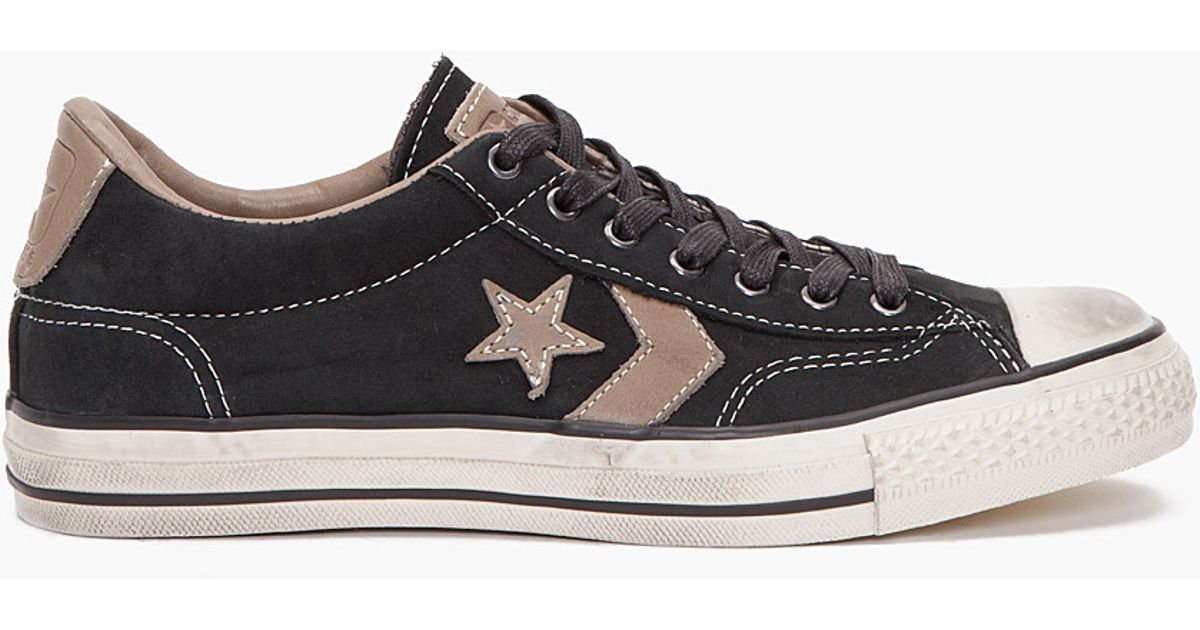 04ebf619a5cee7 ... greece lyst converse star player ox sneakers in black for men edfce  b0988 ...
