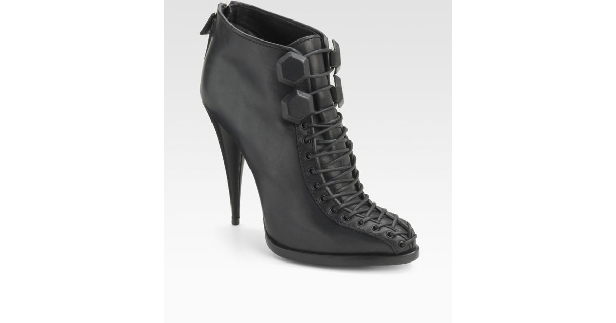 Givenchy lace-up boots cheap discount x4zDqa6wND